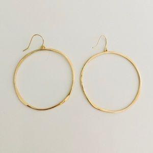 Gorjana Jewelry - New Gorjana G Ring Hoop Earrings